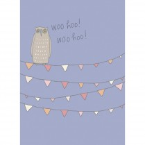 Congratulations Owl Card
