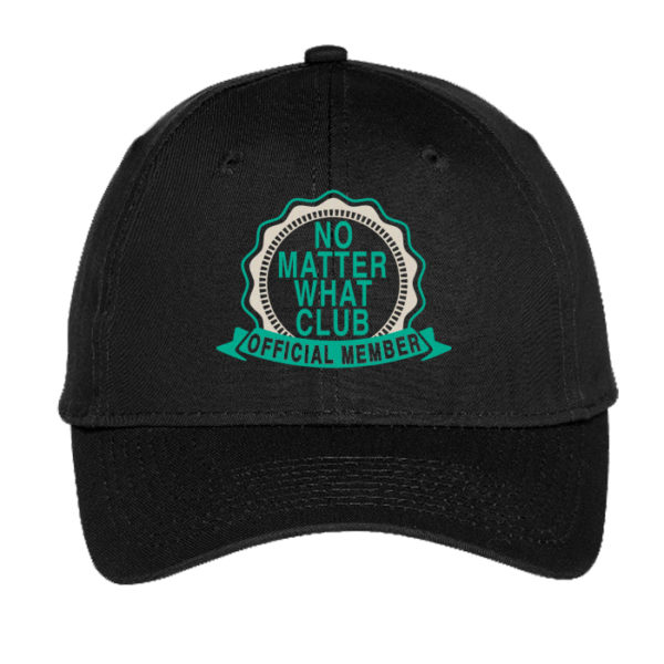 No Matter What Club Hat - Black