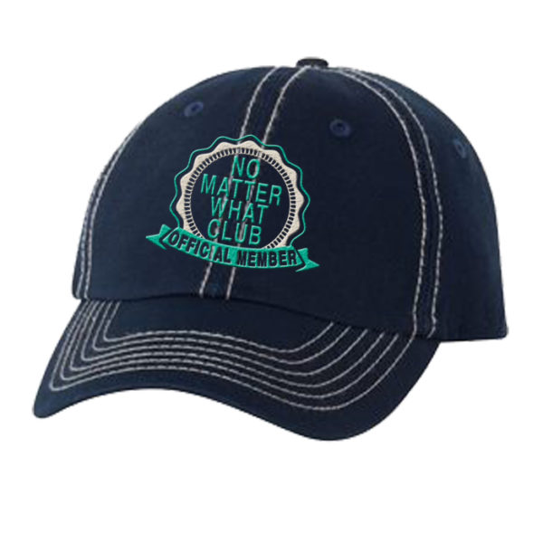 No Matter What Club Hat - Navy