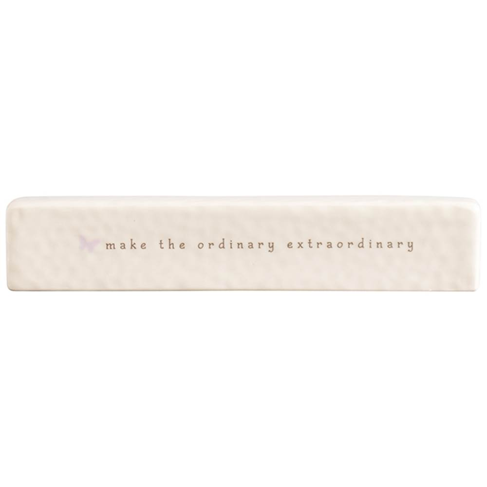 Make the Ordinary Extraordinary Ceramic Bar