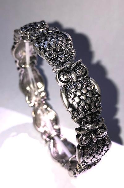 Owl Stretch Bracelet