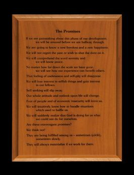 6x8 Promises Wall Plaque