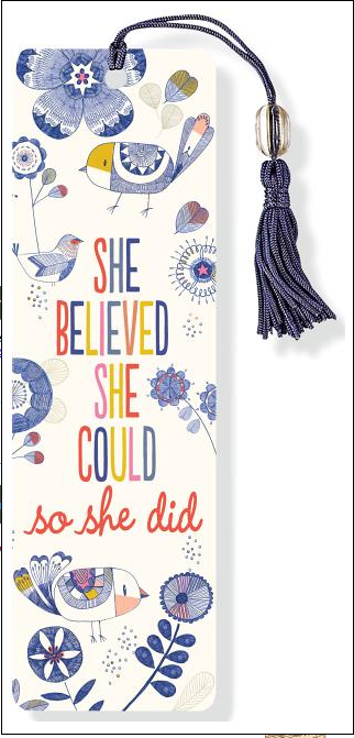 She Believed She Could Bookmark
