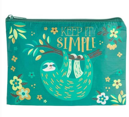Keep It Simple Sloth Plastic Clutch