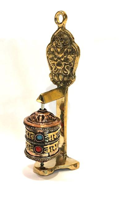Buddhist Prayer Wheel Miniature