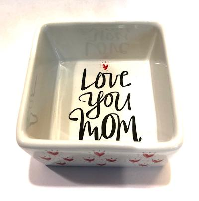 Love You Mom Ring & Trinket Dish