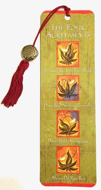 Four Agreements Bookmark