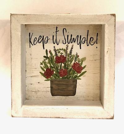 Keep It Simple Shadowbox