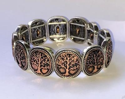 Tree of Life Shield Bracelet