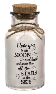 Love You to the Moon Twinkle Jar