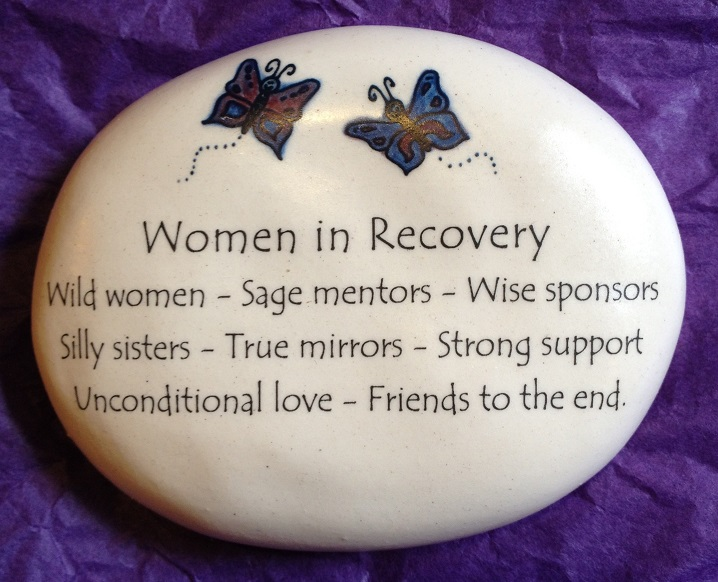 Women in Recovery Butterfly Rock
